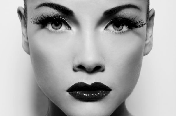 Black And White Photo Makeup