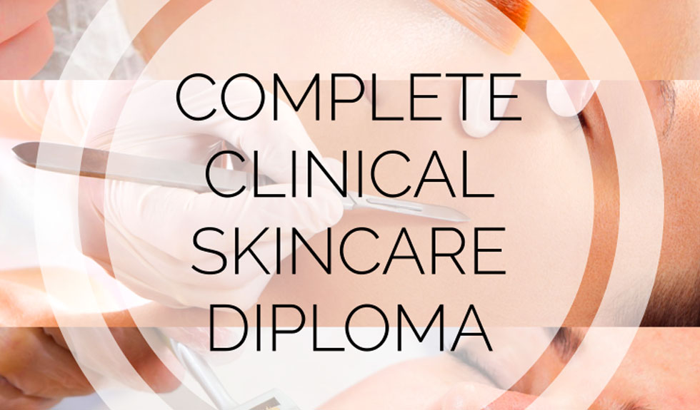 Take the Complete Clinical Skincare Diploma Course and move your business into the profitable clinical sector
